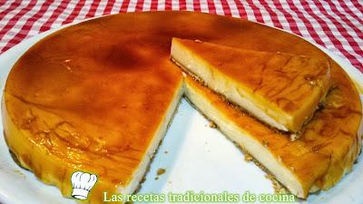 Tarta de queso receta fácil y rápida