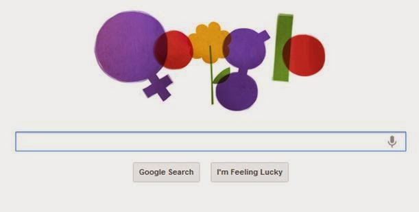 Google Doodle for International Women's Day 2012