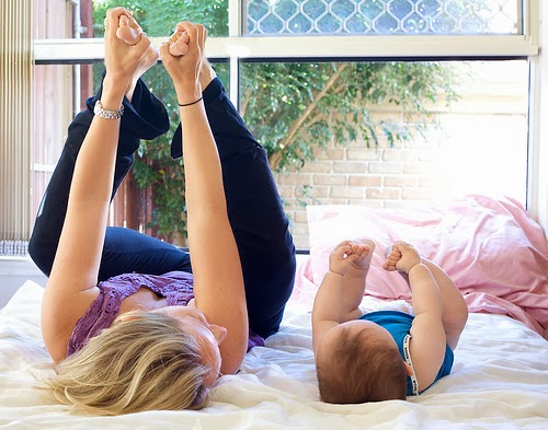 Happy Baby Pose, yoga for beginners blog
