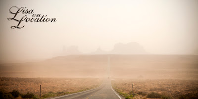 Monument Valley Arizona sandstorm, New Braunfels photography
