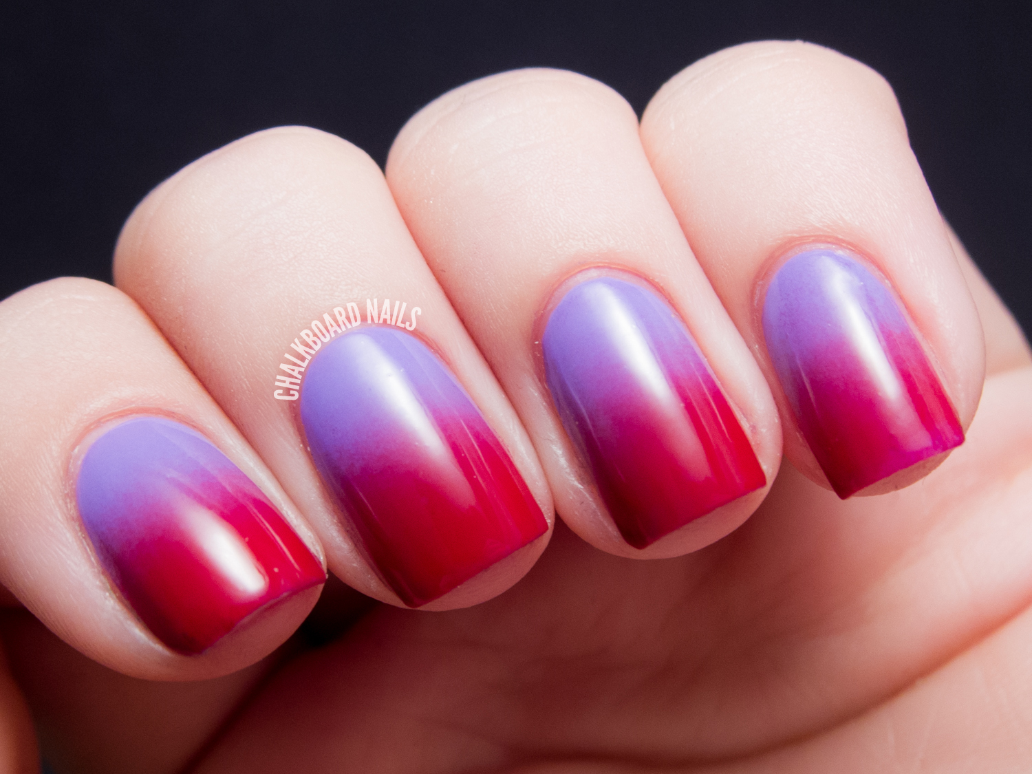 Swoony Gradient (Lilac to Red)