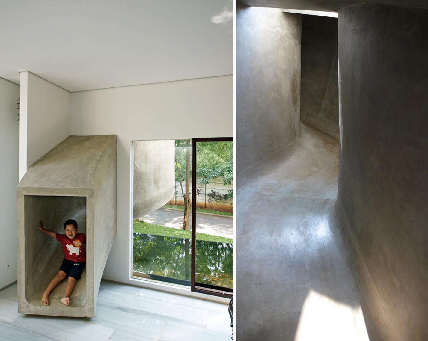 Daniel paya dise o de interiores arquitectura y - Casa con tobogan ...