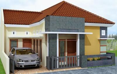 Model rumah minimalis sederhana 1 lantai