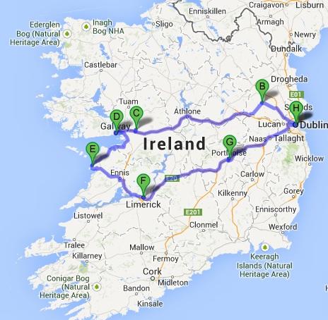 The Mitten Wife Travelogue Ireland ROAD TRIP - Ireland trip