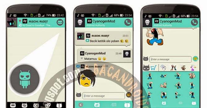 Download BBM Cyanogen Versi 2.6.0.30