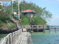 Seafdec cottages in Guimaras