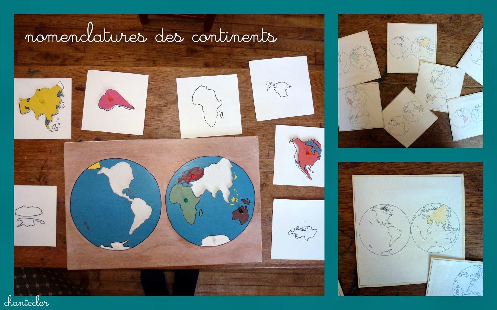Chantecler apprendre dans la joie f vrier 2014 for Planisphere pour enfant
