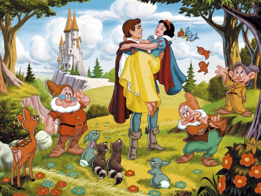 Sette nani snow white and the seven dwarfs walt disney