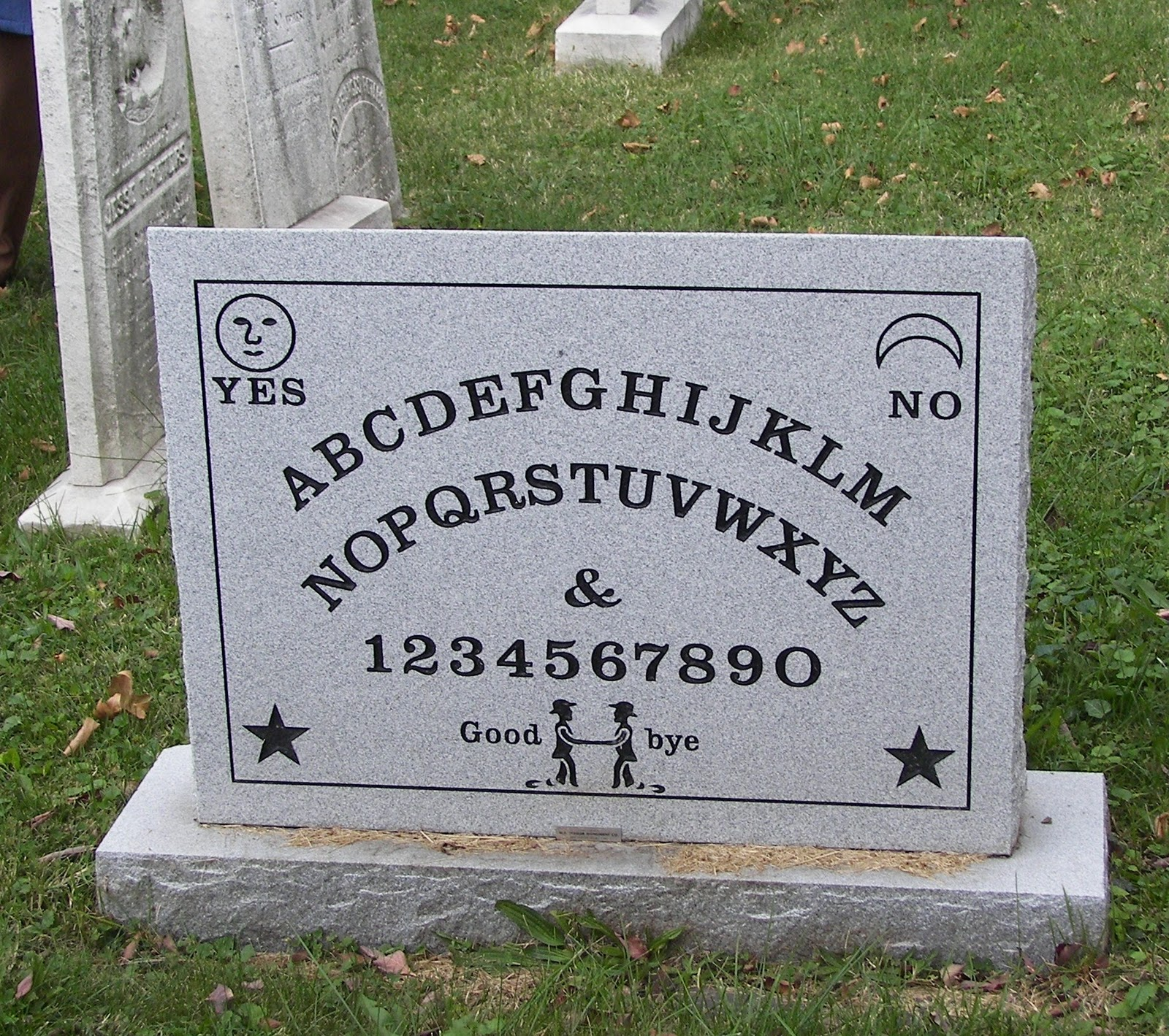 Friday Funny Ouija Tombstone