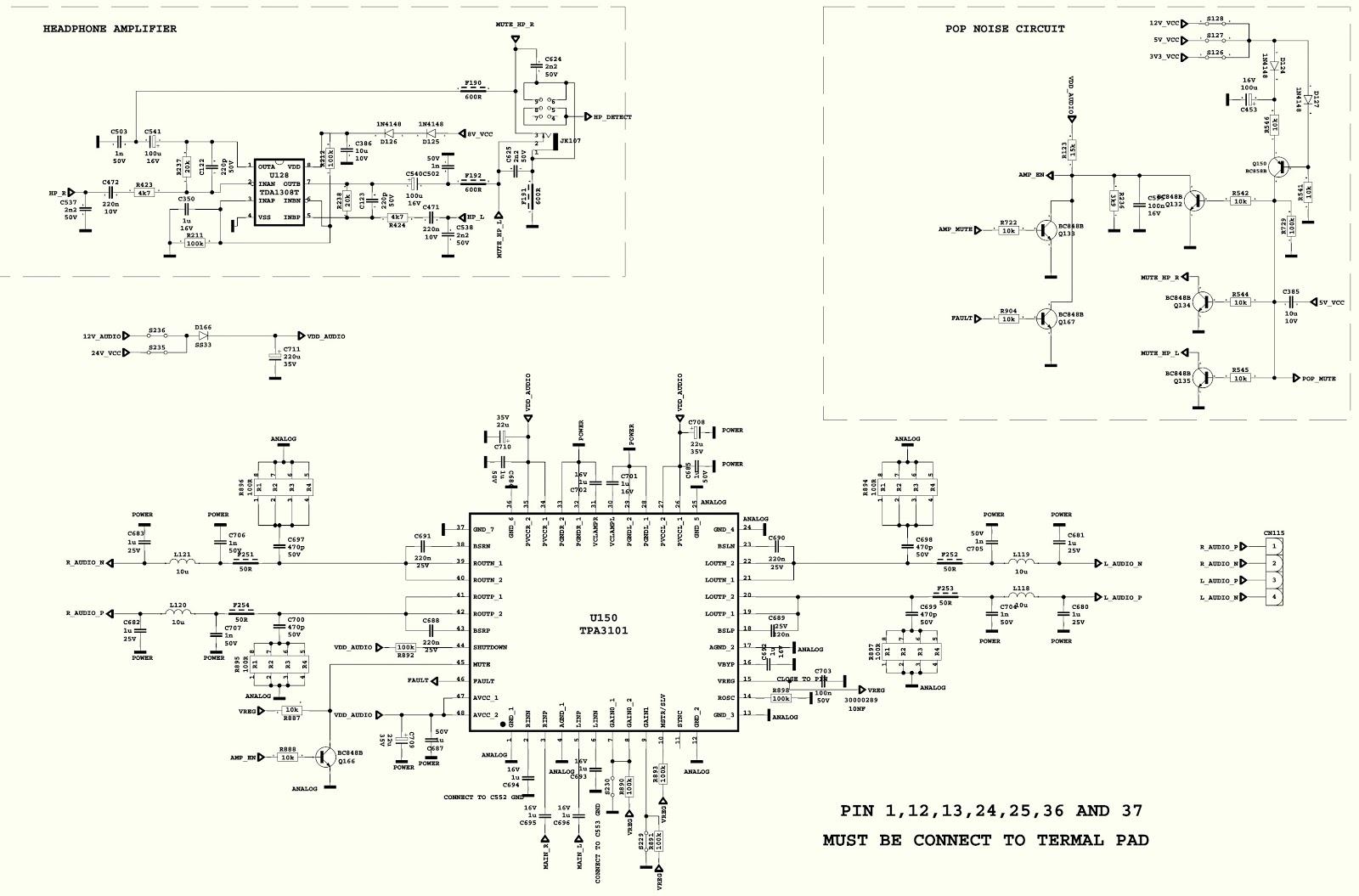 Vestel 17mb25 Tft Lcd Tv Kit Circuit Diagram Full Schematic Headphone Amplifier Pwb