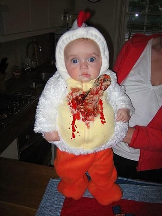 Predator Baby Costume