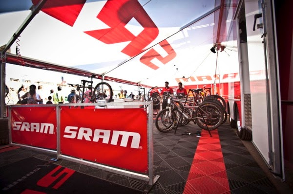 SRAM Truck Tour: Mobile Race Support