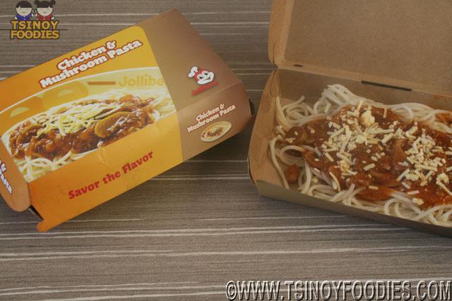 jollibee chicken mushroom pasta