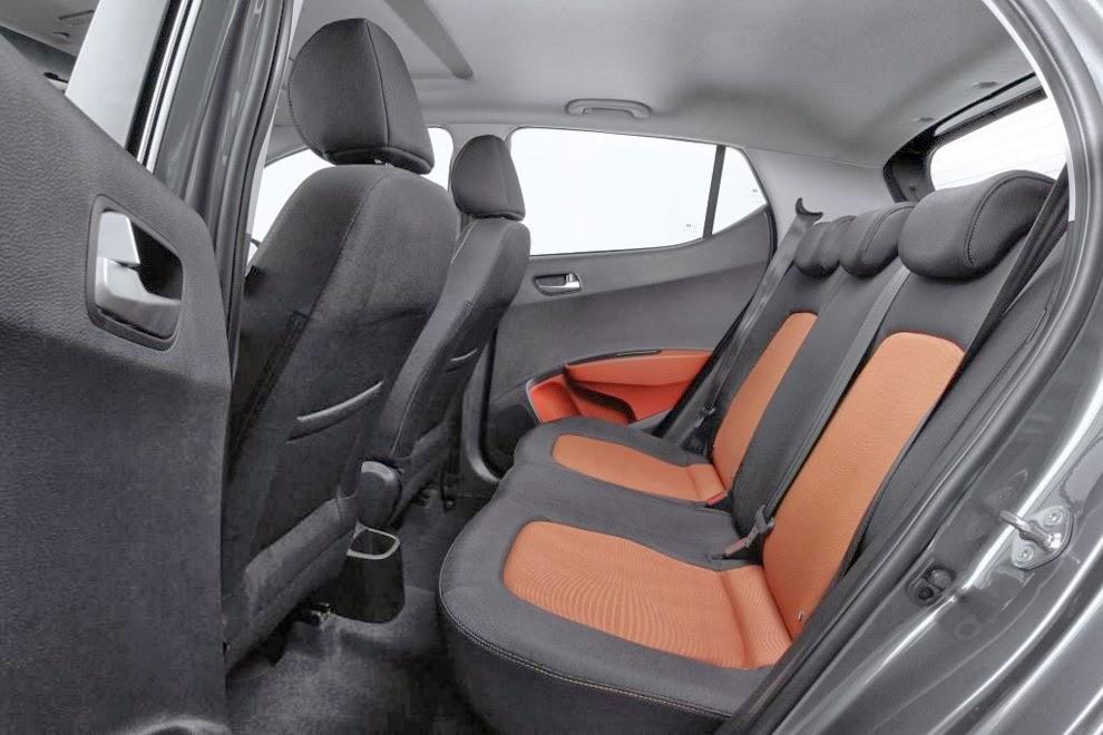 Hyundai i10 fotografie de interior