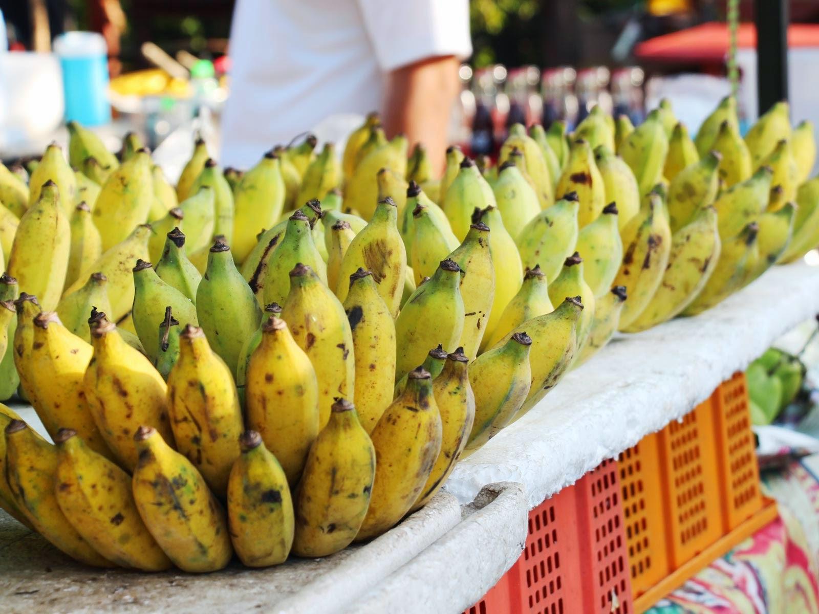 bananes thaïlande