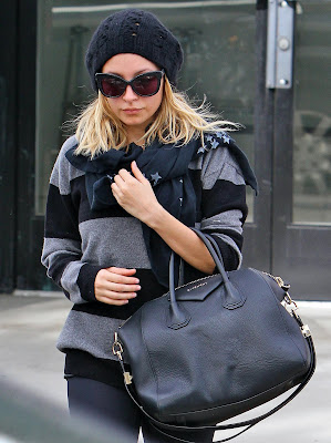 Nicole Richie Was Seen Leaving Her Studio City Gym Yesterday, November