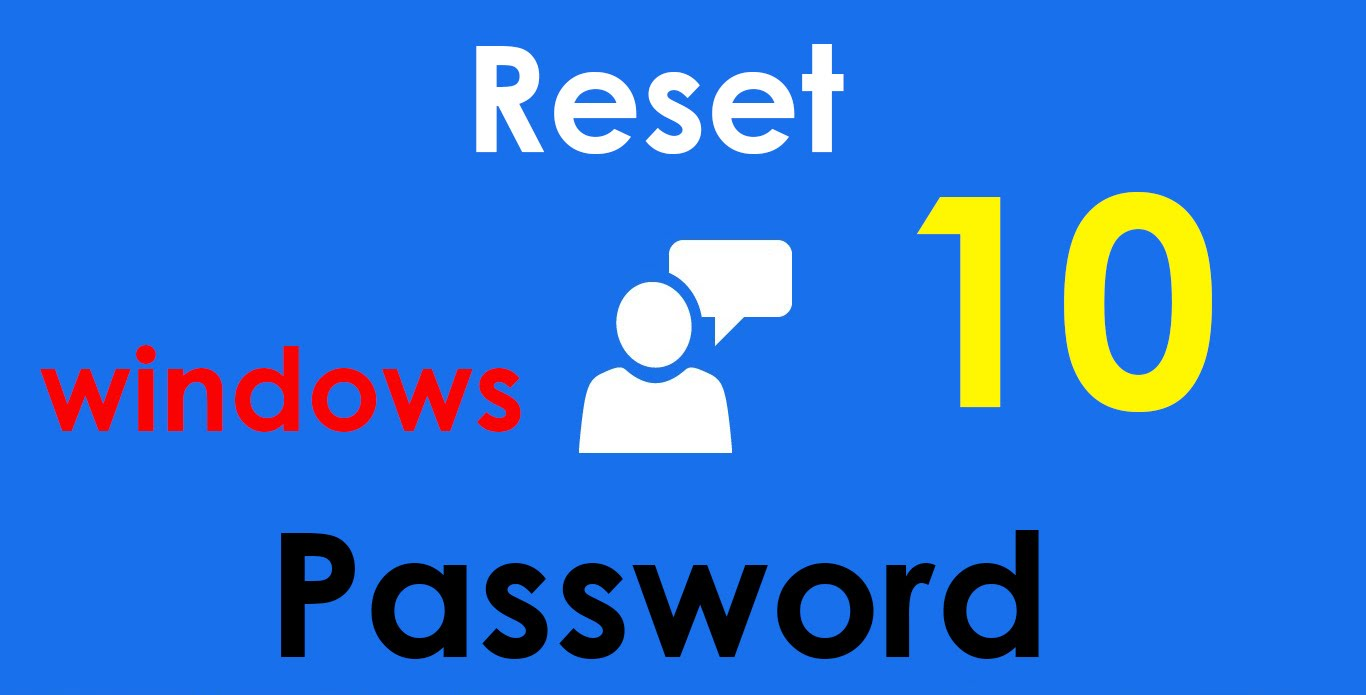 reset password on windows 10 without disk