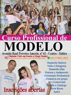Passarela da Moda Brasil Curso de Modelo Em Tabira