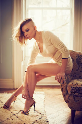 Natalie Dormer topless in GQ Magazine April 2014 photoshoot
