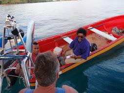 visiting fisherman Moses