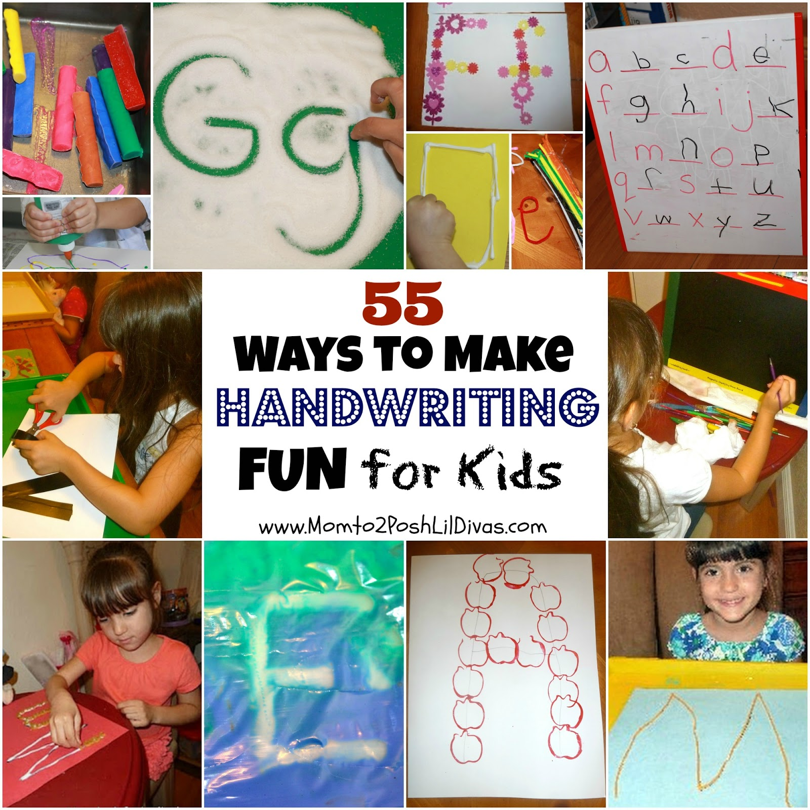 Worksheet Handwriting Activities Ks1 mom to 2 posh lil divas 55 ways make handwriting practice fun for kids get ready k through play