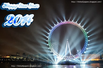 Latest Happy New Year 2014 Eve Celebrations Pictures Beautiful 2014 Fireworks HD Wallpapers