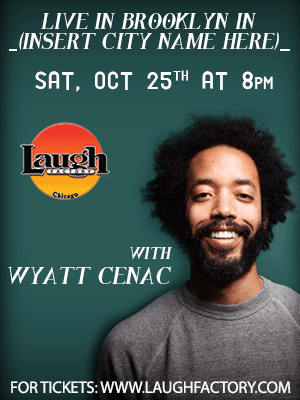 Wyatt Cenac @ The Laugh Factory!