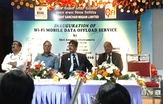 BSNL launched Wi-Fi Mobile Data Offload Services to enhance user experience