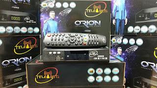 atualização do receptor Telesat Orion HD 3 tuners V7.09.28.S14