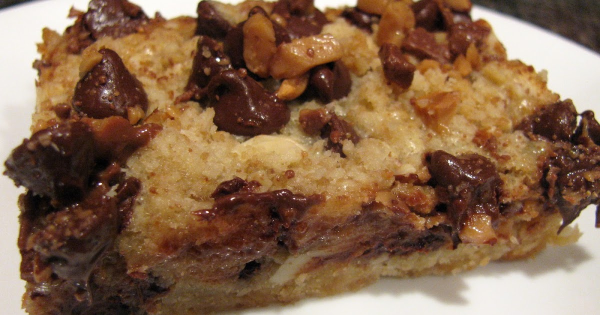 Chocolate Chip Toffee Bars | Family Heritage Recipes