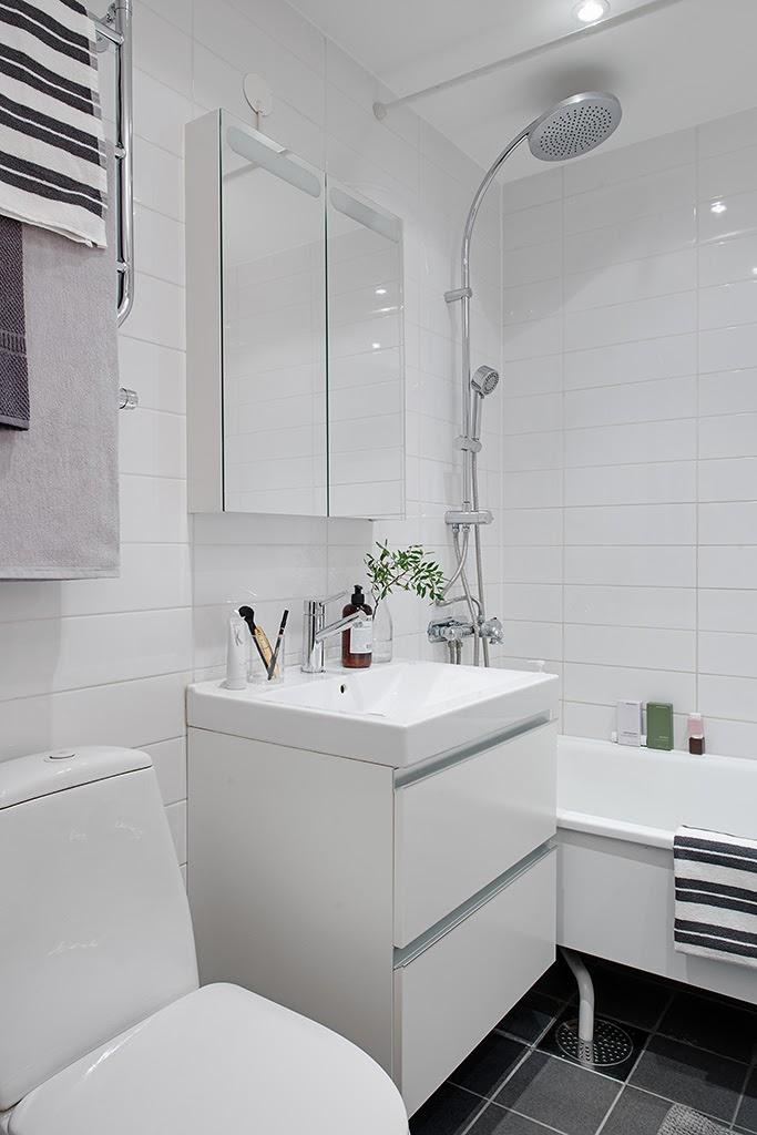 amenajari, interioare, decoratiuni, decor, design interior, stil scandinav, apartament 3 camere, baie