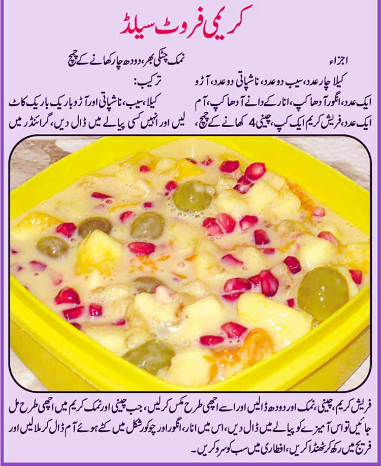 Easy Fast Food Recipes In Urdu