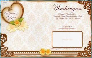 Undangan Pernikahan