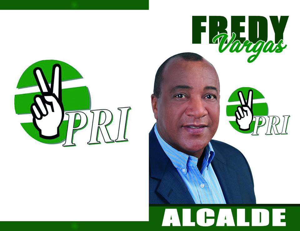 FREDDY WILLIAM VARGAS MATOS, Candidato Alcal de Barahona por el PRI