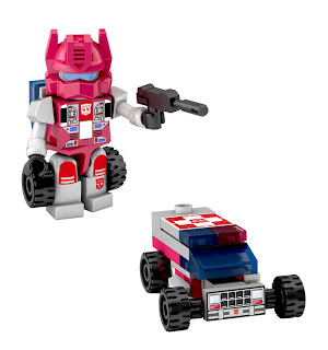 Hasbro Transformers Kre-O Micro Changers Combiners Series 2 - First Aid (Protectobots)