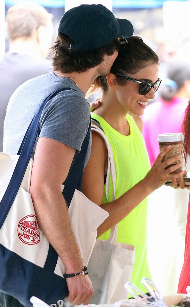 Ian Somerhalder and Niki Reed spark dating rumours with PDA at Farmer's Market in LA