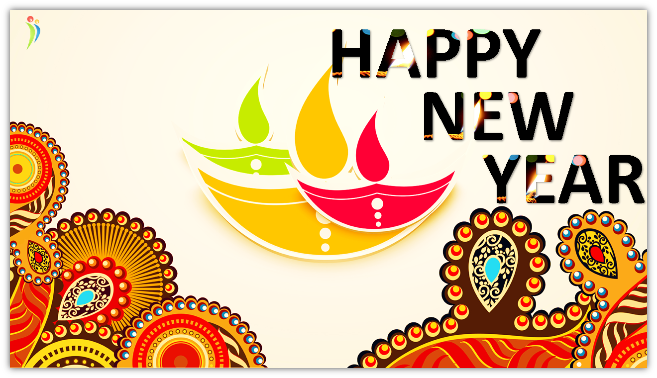 happy diwali and happy new year to your friends and family wallpaper