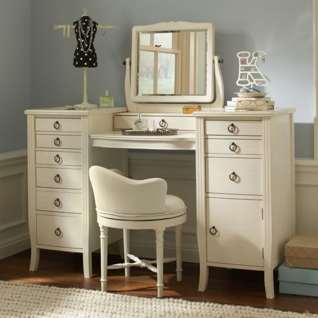 Completing Bedroom Sets with Vanity Table IKEA Trend