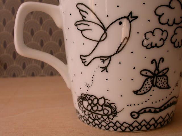Mandarinux tazas handmade for Donde comprar ceramica barata