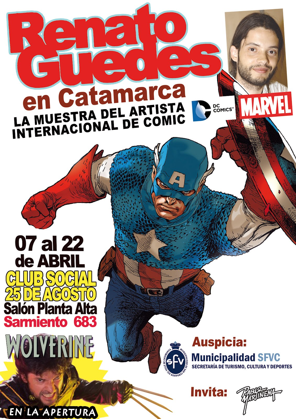 Pablo martinena marzo 2012 for Javier paredes wolverine