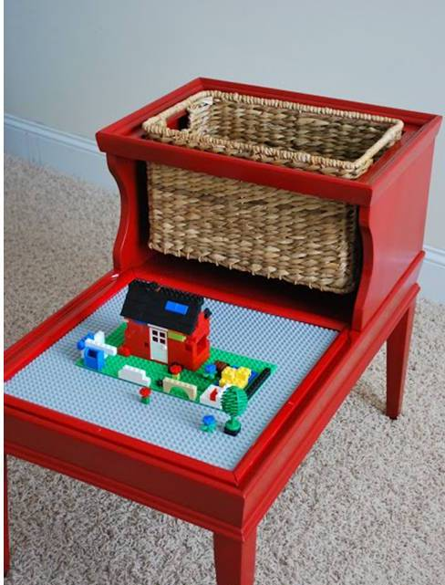 home decor creative diy lego table design idea