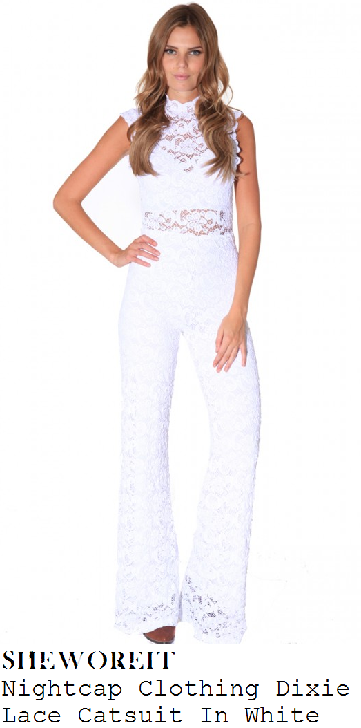 lauren-pope-white-lace-sleeveless-wide-leg-jumpsuit