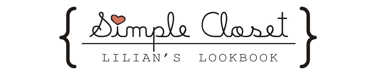 Simple Closet | Lilian's Lookbook