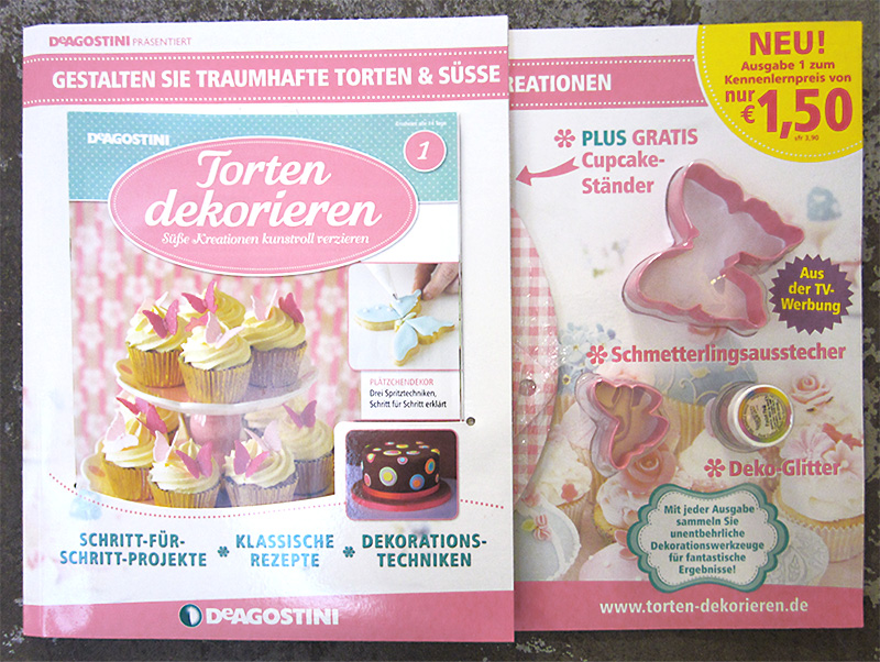 Millas kitchen neue sammelserie torten dekorieren for Torten dekorationen
