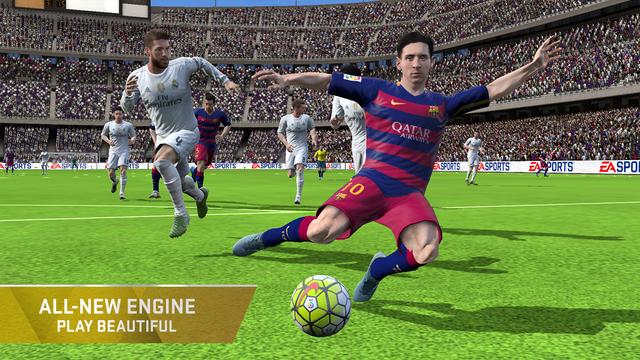 تحميل أحدث إصدار من لعبة كرة القدم الواقعية للأندرويد والآيفون FIFA 16 Ultimate Team APK.iOS
