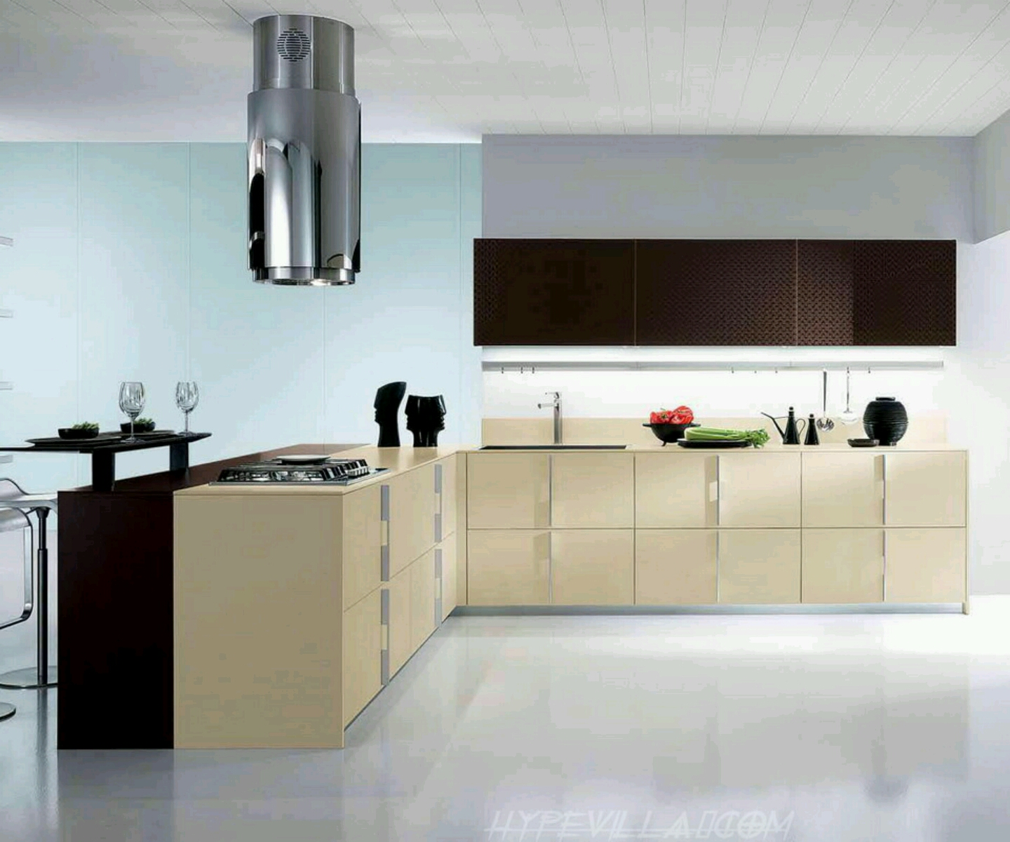 Modern kitchen cabinets designs furniture gallery - Images of modern kitchen designs ...