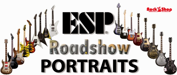 ESP, Signature, Portraits, George Lynch, Ron Wood, Alexi Laiho