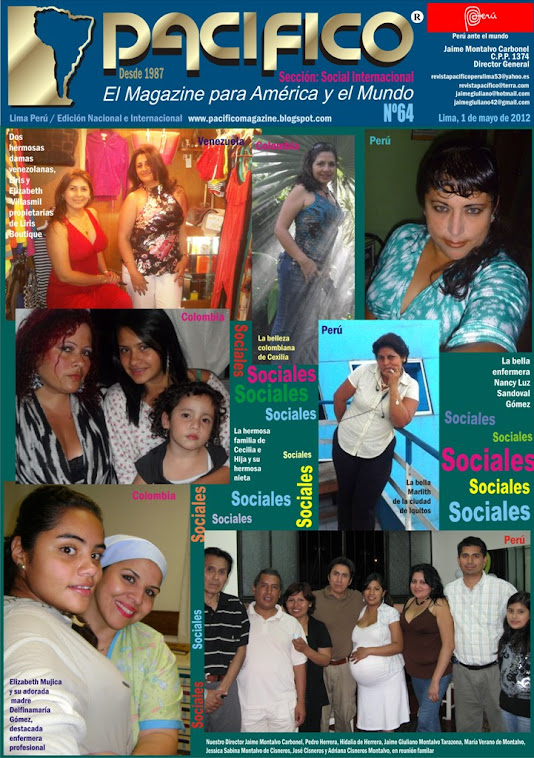 Revista Pacífico Nº 64 Social Internacional
