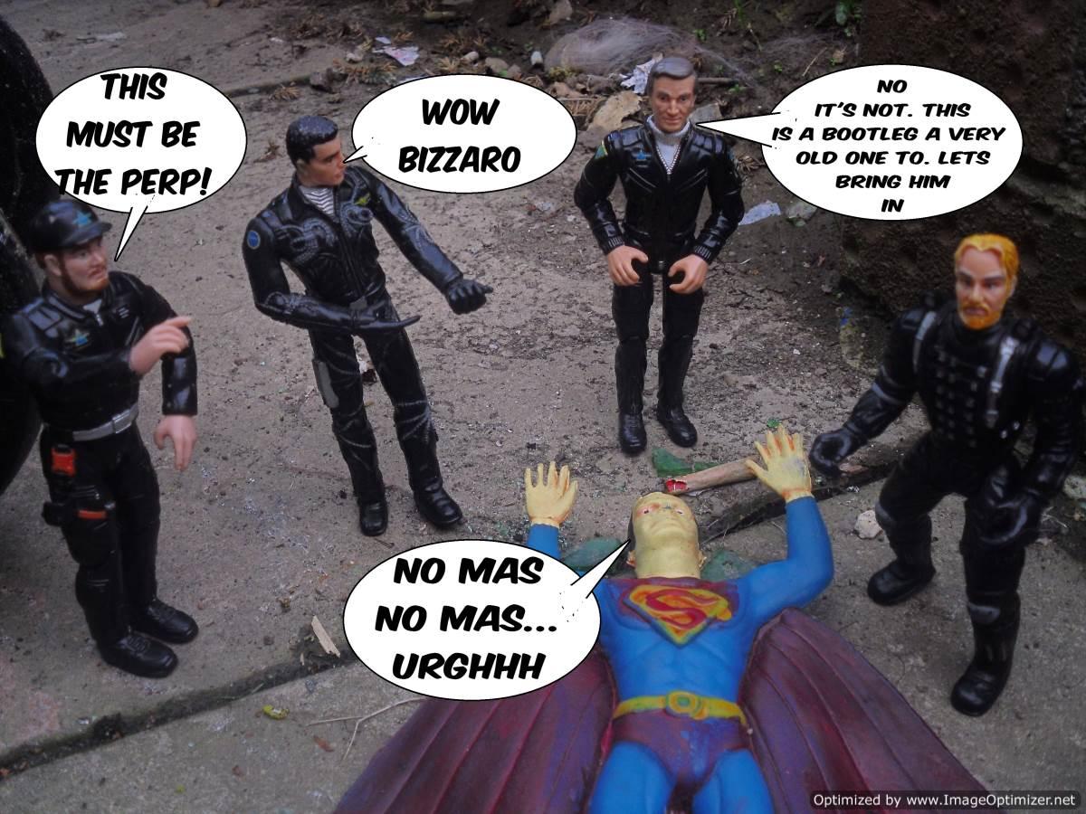 COMICS: THE BOOTLEG SUPER SECRET WARS #1