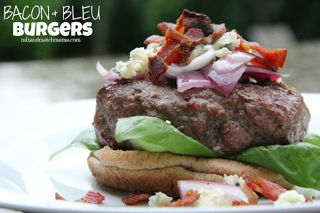 Bacon & Bleu Burgers